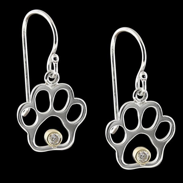 Diamond Paw Print Jewelry Brand Discounts