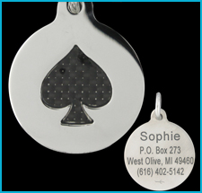 Stainless Steel Custom Engraved Pet Tags