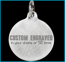 Titanium Custom Engraved Pet Tags