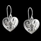 Sterling Silver Florentine Earrings