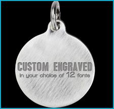 Titanium Custom Engraved Pet Tags